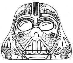 sensational dia de los muertos coloring pages complicolor day of