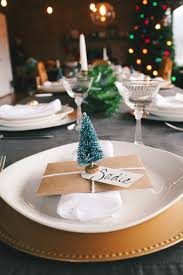 lovely u0026 budget friendly diy christmas place cards