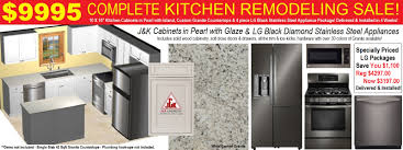 kitchen cabinets with countertops complete kitchen remodeling packages under 10000 mesa az
