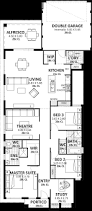 rear lane access home designs u0026 plans perth vision one homes