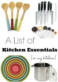a list of kitchen essentials in my kitchen primal edge health