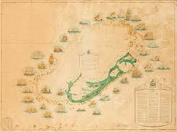 florida shipwrecks map jersey shipwreck chart great nautical print map print