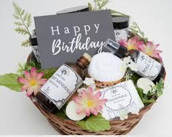 birthday gift basket etsy