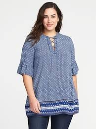 plus size blouses plus size tops on clearance navy