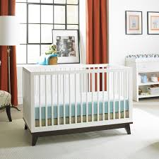 Modern Convertible Crib 20 High End Baby Furniture Finds