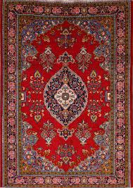 7x10 Rugs Isfahan Persian Area Rug