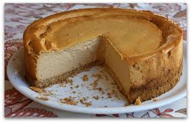 low pumpkin cheesecake