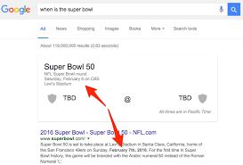 s not sure what day bowl 50 is happening in 2016
