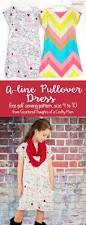 girls a line pullover dress free pattern size 4 to 10