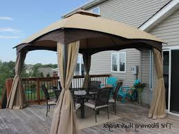 Gazebo Curtain Ideas by Allen Roth Gazebo Roselawnlutheran