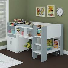 new single midi sleeper bunk bed with desk cabinet u0026 bookshelves