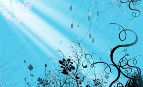 Blue Flower Backgrounds - blue swirl wallpaper wallpapersafari