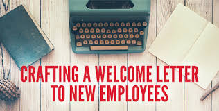 employee welcome letter youearnedit com reward u0026 recognize
