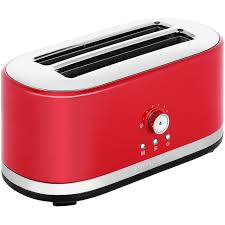 Kitchenaid 4 Slice Toaster Red Kitchenaid 5kmt4116ber 4 Slice Toaster Empire Red