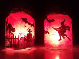 Diy Halloween Lights by Jam Jar Tea Lights Diy Roselawnlutheran
