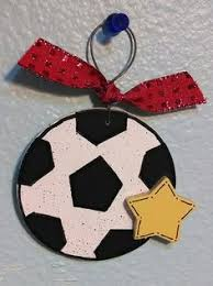 soccer ornaments to personalize i soccer christmas ornament
