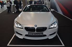 matte white bmw 2015 bmw m6 convertible in frozen white