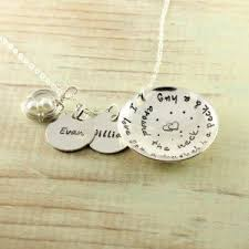 Necklace With Name Rustic Family Tree Name Necklace Sterling Birthstones Woobie Beans