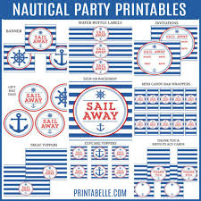 nautical party printables u2013 printables for kids parties u0026 games