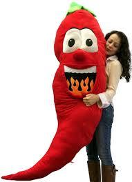 Pepper Halloween Costume Big Plush Stuffed Red Pepper 66 Soft Giant Fruit Vegetable