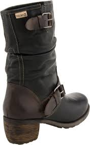 womens boots mid calf pikolinos le mans 9233 s mid calf boot black olmo
