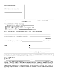 sample deed form 16 free documents in word pdf