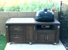 outdoor grill prep table bbq prep table best grill station ideas on patio ideas for barbecue