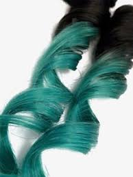 teal hair extensions clip in teal turquoise jade ombre human hair extensions root