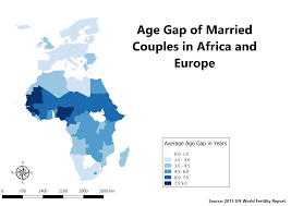 africa map answers map of the week marriage age differences in europe and africa