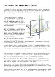 How Do You Stop A Leaking Faucet How You Can Stop A Leaky Faucet Yourself 1 638 Jpg Cb U003d1432205791