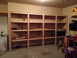 Garage Shelf Design Garage Shelving Designs Sharp Home Design