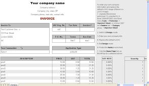sample bill format templates memberpro co
