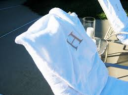 Chaise Lounge Terry Cloth Covers How To Make Towel Slipcovers For Outdoor Chairs In My Own Style