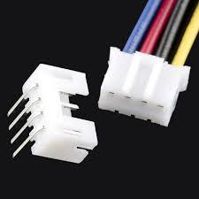jst jumper 4 wire assembly prt 09916 sparkfun electronics