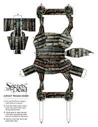secrets of the dead trojan horse papercraft thirteen new york