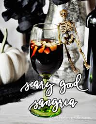 halloween party cocktails spooky sangria