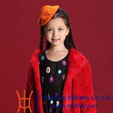 free shipping children gril wool fascinators lovely dress hair