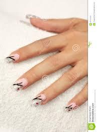 making nails decoration stock photo image 47477618