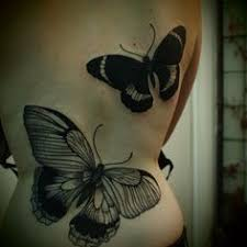 large butterfly tattoos ideas center