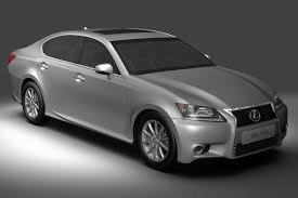 lexus gs 350 models 3d model lexus gs350 2013 cgtrader
