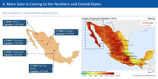 Northern Mexico Map by An Illustrated Guide To Mexico U0027s Solar Market Short Term Pain May