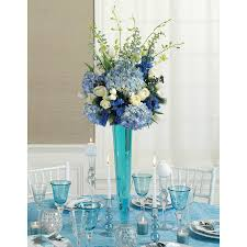 blue centerpieces blue reception wedding flowers wedding decor wedding flower