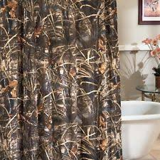 Realtree Shower Curtain Realtree Camouflage Shower Curtains Ebay