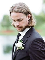 medium length hairstyles for men stylish wedding hairstyle ideas for men
