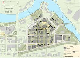 Spokane Map Campus Master Plans Wsu Facilities Services