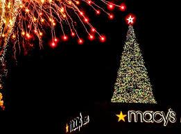 lenox tree lighting 2017 photos lighting of macy s great tree at lenox square atlanta