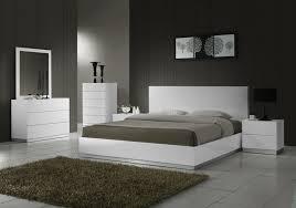 White Contemporary Bedroom King Size Sleigh Bedroom Sets For Modern Interior Design Designed