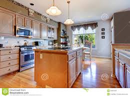 Kitchen Green Walls Large Beautiful White Kitchen With Hardwood Floor And Green Walls