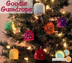 goodie goodie gumdrops felt ornament tutorial