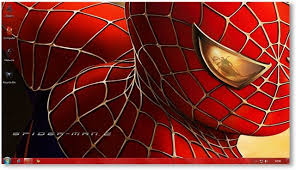 spiderman theme for windows 7 and windows 8